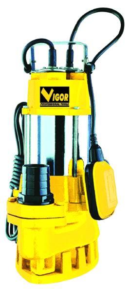 ELETTROPOMPE VIGOR VE750 SUB INOX-GHISA A.LURIDE 2